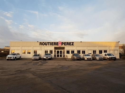 L'entreprise de Routière Perez